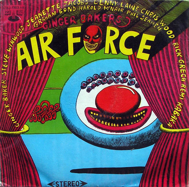 GINGER BAKER'S AIRFORCE -   AIRFORCE   (2-LP, 1970, Taiwan / China)