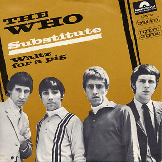 THE WHO ORCHESTRA -    Waltz For A Pig   (7inch / Italy)