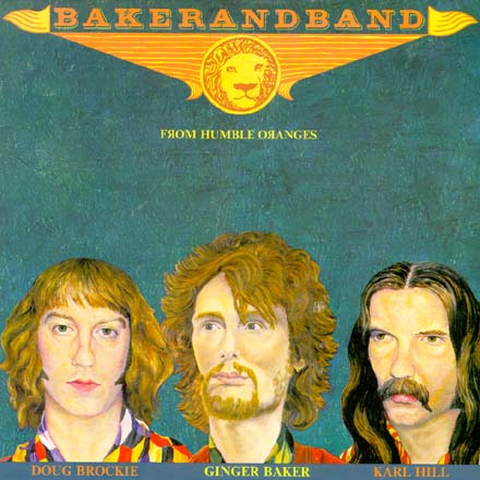 BAKER AND BAND -   From Humble Oranges    (LP, 1982, CGD Italy)