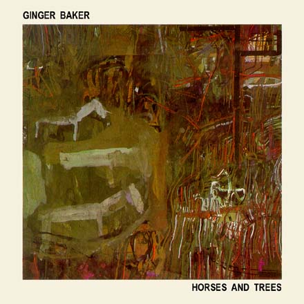 GINGER BAKER and MATERIAL -    Horses and Trees   (CD, 1986, Celluloid)